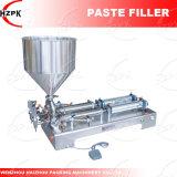 Cabeças Duplas máquina de enchimento de água/Cole Bocal/Colar máquina de enchimento