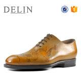Качество печати чистая натуральная кожа исключительно мужчины обувь