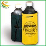 Venta caliente el refrigerador de botellas de neopreno con cordón