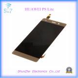 Huawei P8ライトの表示のための元のスマートな携帯電話のタッチ画面LCD