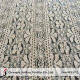 Tissu de coton tricot dentelle de gros (M3172)