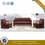 Sofá moderno de la oficina del sofá del cuero genuino de los muebles de oficinas (HX-CF007)