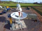 antenne satellite fixe de Rxtx de station terrestre de 7.3m