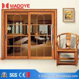 Porte coulissante en aluminium des graines en bois de prix bas