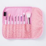 8PCS Pink Ferrule Cosmetics Makeup Brush for Promotion