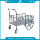 AG-Ss026 304 Stainless Steel Laundry Trolley Dressing Cart