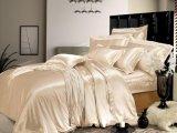 Taihuの雪の絹の優雅シリーズOeko-Tex 100の標準継ぎ目が無い寝具19mommeの実質の贅沢で純粋なクワ絹の羽毛布団カバー絹の寝具セット