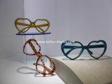 Étalage debout Rod Btr-E1030 de lunettes de soleil d'étage acrylique