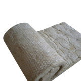 Couverture de laine de roche isolé avec un filet pour les toitures