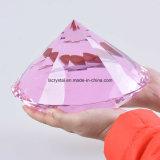 200mm grosser weißer Farben-Kristallglas-Diamant für Hauptdekoration