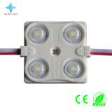 4つのLEDsとの外部LEDの印の照明1.44W