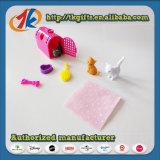 Grappig Plastic Mini Dierlijk Vastgesteld Stuk speelgoed met Goedkope Prijs