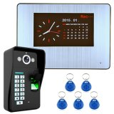 1000tvl DVR Fingerabdruck-Anerkennungs-videotür-Telefon-Gegensprechanlage