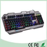 [ألومينوم لّوي] تصميم زاويّة [لد] [بكليغت] حاسوب آليّة قمار لوحة مفاتيح ([كب-906ل-ك])