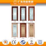 Alumínio Interior Porta Casement decorativas