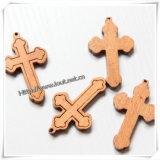 Traditionelles Kreuz/hölzerner Queranhänger/Querhalskette (IO-cw010)