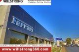 4mm Revestimiento de pared de aluminio para fachadas exteriores de la tienda 4s
