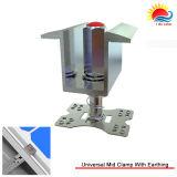 Bride matérielle en aluminium d'extrémité de prix usine (ZX045)