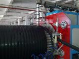 Le PEHD mur creux du tuyau d'assainissement Ligne d'Extrusion