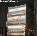 Metalizada Película de Polipropileno Material de aislamiento de calor y embalaje flexible 9-40mic