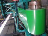 Bobinas de acero de acero galvanizadas prepintadas/de la hoja PPGI bobina de acero cubierta color