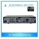Nieuwste Tweeling Aards Combo & Kabel + de SatellietOntvanger van TV met H. 265 Zgemma H5.2tc