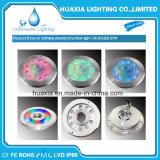 Protección IP68 27W LED blanco bajo el agua de la luz de la fuente