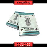 Cartões de jogo plásticos do póquer do casino da importação de Coreia/100% para os jogos Ym-PC05 do clube do póquer de Texas Holdem