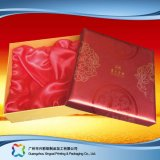 Comercio al por mayor papel de regalo de cartón de embalaje/Alimentos/Cuadro de cosméticos con Insert o tapas (XC-HBF-001).