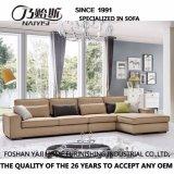 Sofá de la tela del diseño moderno de los muebles de la sala de estar (G7601B)
