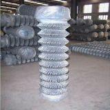 Cerca revestida del acoplamiento de la cerca/de alambre del diamante del PVC