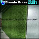 Gramado artificial da grama do alto densidade 20mm para a decoração
