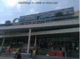 Edificios de estructura de acero prefabricados de montaje rápido para el centro comercial