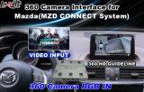 Système de marche arrière Anti-caméra arrière Assistance de stationnement Interface vidéo de caméra avant pour Mazda