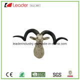 Cabeza de Toro Polyresin estatua decorativa para el hogar y Decoración de pared