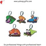 Porte-clés en PVC doux pour promotion (YH-KC074)