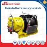 10 Tonnen-pneumatische gefahrene Handkurbel für Bergbau und Ölfeld und Lieferungen