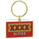 Hot Sell Custom Zinc Alloy Keychain avec le logo Letter