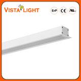 Pendente de LED de extrusão do alumínio na luz de tecto Linear para as Escolas