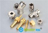 Latón que adapta el adaptador de cobre amarillo con ce / RoHS (HTFB13-02)
