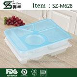 Wegwerfplastiknahrungsmittelbehälter mit Deckel