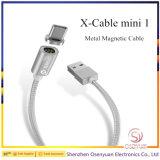 Fashion Wsken Dois Bujão Magnético de metal para cabo de dados USB do telefone ligue para a Samsung