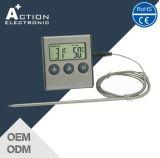 De digitale Thermometer van het Voedsel Cooking/BBQ voor Keuken met Sonde