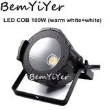 1X100W ESPIGA LED PAR lavar com luz branca quente+Branco 2NO1 Blinder/Estágio/show/Bar