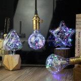 Iluminação Home do diodo emissor de luz do Fairy de cobre colorido decorativo pequeno extravagante minúsculo