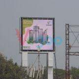 Écran visuel de haute résolution d'Afficheur LED de la publicité P8 extérieure