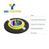De goedkope Optische Kabel van de Vezel van 4 Kernen G652D van de Prijs ADSS Diëlektrische voor 80m Spanwijdte