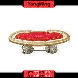 Der Texas-Holdem Spieler-spielende Spiele Ym-Tb014 Kasino-Schürhaken-Tisch-Fabrik-ökonomische vorbildliche Art-10