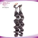 卸し売りディストリビューターのペルーのRemyの毛のWeft緩い波の人間の毛髪