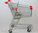 62L Asia Style Shopping Cart Shopping Trolley Supermarket Trolley